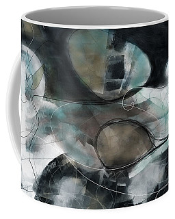 Catch Me If You Can - Large Contemporary Abstract Painting Coffee Mug
