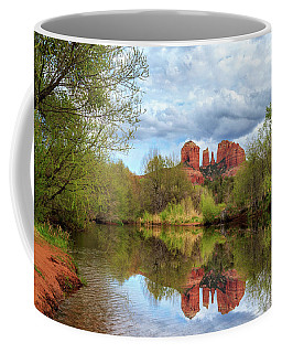 Cathedral Rock Reflection Coffee Mug