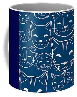 Cats- Art By Linda Woods Coffee Mug