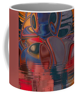 Coffee Mug featuring the digital art Cave De Sensation by A zakaria Mami