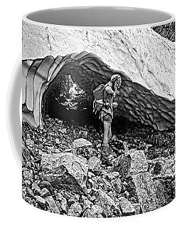 Cave Man Bw Coffee Mug