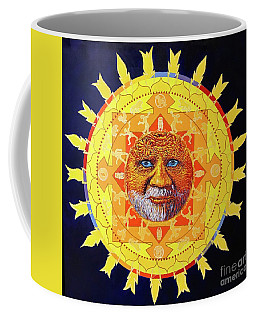 Cbs Sunday Morning Sun Mandala Coffee Mug