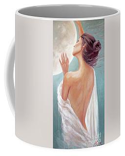 Celestial Moon Goddess Coffee Mug