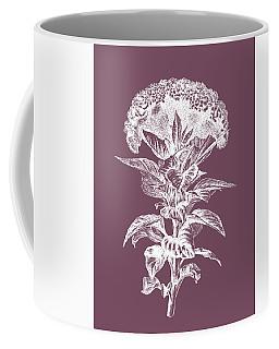 Celosia Purple Flower Coffee Mug