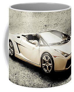 Cement And Chrome Coffee Mug