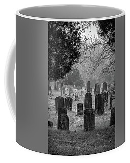Cemetery In The Pines Bw Coffee Mug