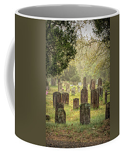 Coffee Mug featuring the photograph Cemetery In The Pines by Kristia Adams