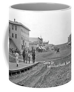 Centre Street Assiniboia  Sasketchewan  Ca  1915 Coffee Mug