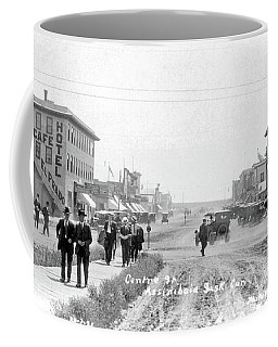 Centre Street  Assiniboia  Sasketchewan  Ca 1921 Coffee Mug