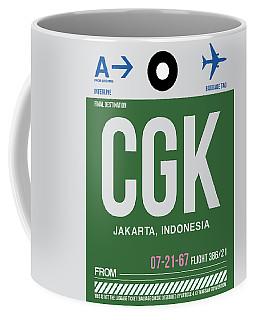 Cgk Jakarta Luggage Tag II Coffee Mug
