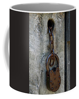 Chain And Lock Coffee Mug