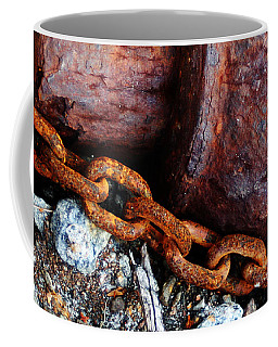 Chained To The Past Coffee Mug