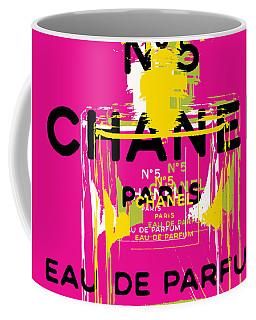 Chanel No 5 Pop Art - #3 Coffee Mug
