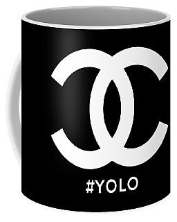 Chanel You Only Live Once Coffee Mug