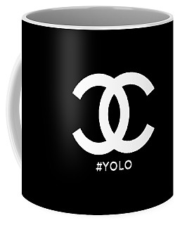 Chanel You Only Live Once Coffee Mug