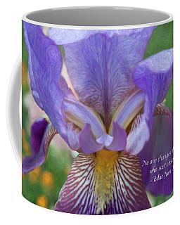 Changing The World - Motivational Flower Art By Omaste Witkowski Coffee Mug
