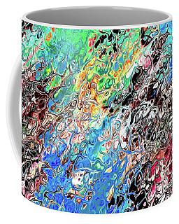 Chaos Abstraction Bright Coffee Mug