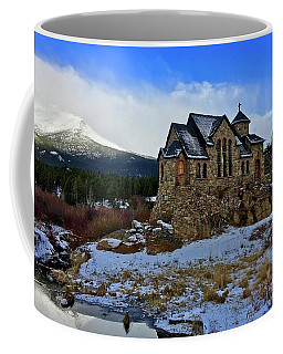 Coffee Mug featuring the photograph Chapel On The Rock by Dan Miller
