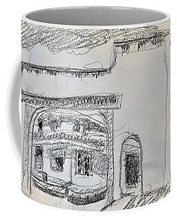 Charcoal Pencil Arch.jpg Coffee Mug