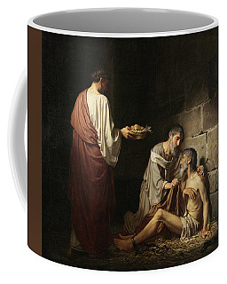 Charity In The Early Days Of The Church Coffee Mug