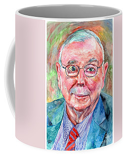 Charlie Munger Portrait Coffee Mug