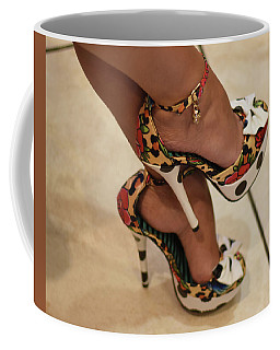Coffee Mug featuring the photograph Charm by Jim Lesher