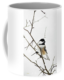 Charming Winter Chickadee Coffee Mug