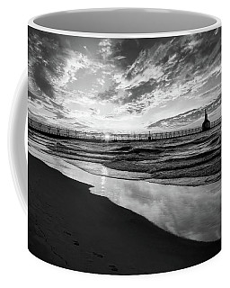 Chasing The Dream Black And White Coffee Mug