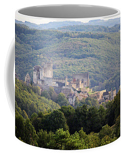 Coffee Mug featuring the photograph Chateau Beynac, France by Mark Shoolery