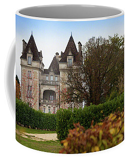 Coffee Mug featuring the photograph Chateau, Near Beynac, France by Mark Shoolery