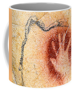 Chauvet Red Hand And Mammoth Coffee Mug