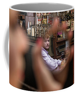 Coffee Mug featuring the photograph Checking Each Other Out by Mike Long