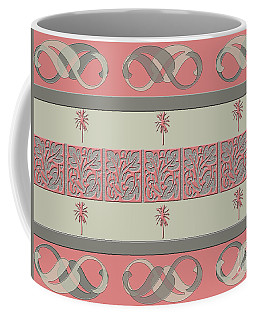 Coffee Mug featuring the photograph Cheery Coral Pink by Rockin Docks Deluxephotos