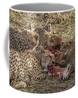 Cheetahs And Grant's Gazelle Coffee Mug
