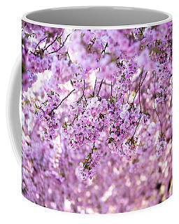 Cherry Blossom Flowers Coffee Mug