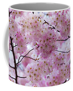 Coffee Mug featuring the photograph Cherry Blossoms 8625 by Mark Shoolery