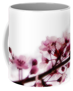 Coffee Mug featuring the photograph Cherry Triptych Left Panel by Mark Shoolery