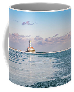 Chicago Harbor Light Landscape Coffee Mug