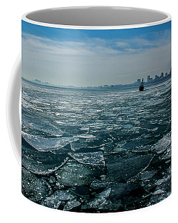 Chicago In Winter Coffee Mug