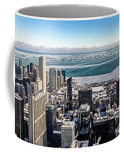 Chicago View Angled Coffee Mug