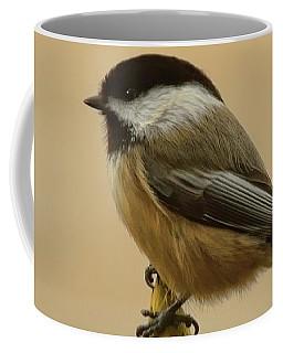Chickadee On Rhododendron Coffee Mug