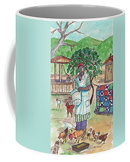 Chicken Feeding Time Coffee Mug