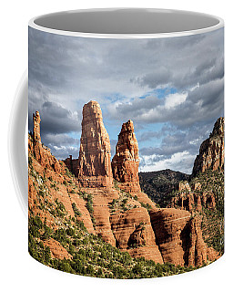 Coffee Mug featuring the photograph Chicken Point by Scott Kemper