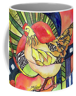 Chicken Red Coffee Mug