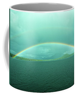 Chilean Fjord Rainbow Coffee Mug