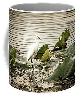 Chinese Egret Coffee Mug