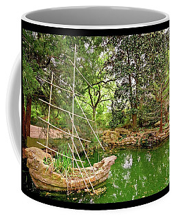 Chinese Stone Ship Coffee Mug