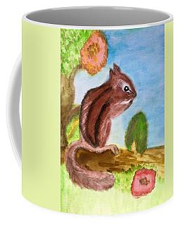 Chipmunk By Dee Coffee Mug