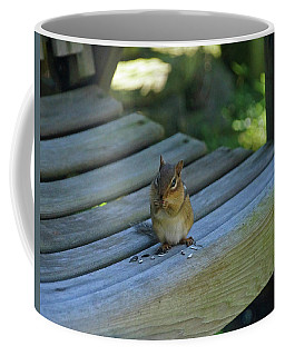Chipmunk Eating Seeds Coffee Mug