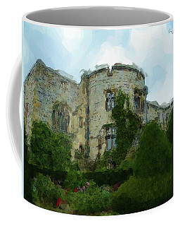 Chirk Castle Painting Coffee Mug